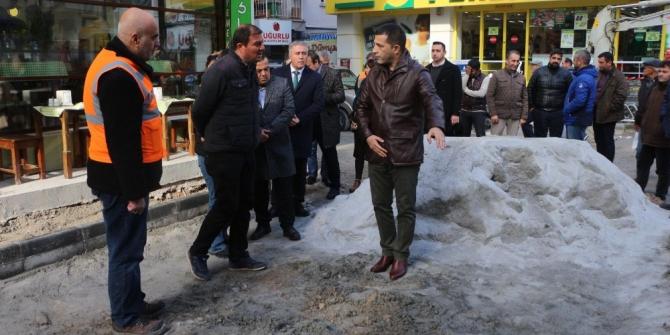 Kuşadası Türkmen Mahallesi'nde çalışmalar aralıksız sürüyor