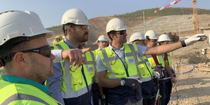 Nükleer Düzenleme Kurulu üyelerinden Akkuyu NGS sahasında inceleme