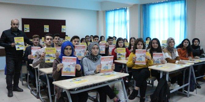 NCL hastası Ahmet'e bir destek de babasının öğrencilerinden geldi