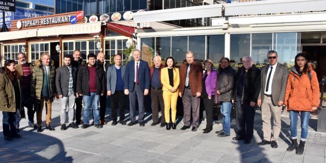 Başkan Atabay, gazetecilerle kahvaltıda buluştu