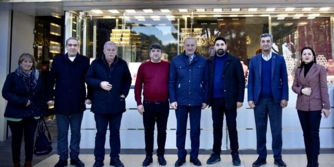 Başkan Atabay'dan yeni işletmelere ziyaret