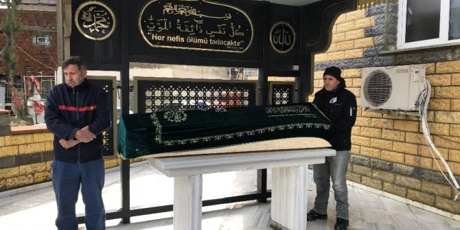 Alman polisi tarafından öldürülen Türk vatandaşı toprağa verildi