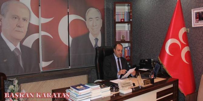 Başkan Karataş'tan 10 Ocak Çalışan Gazeteciler günü mesajı