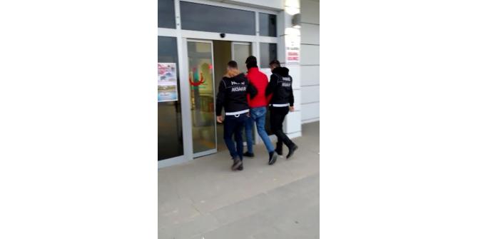 """Aksaray'da """"Narko Net 5"""" operasyonu: 2 gözaltı"""