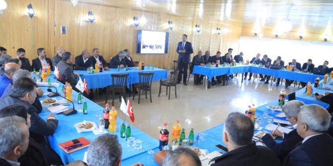 2020 yılı Koordinasyon toplantısı Ceylanpınar'da düzenlendi