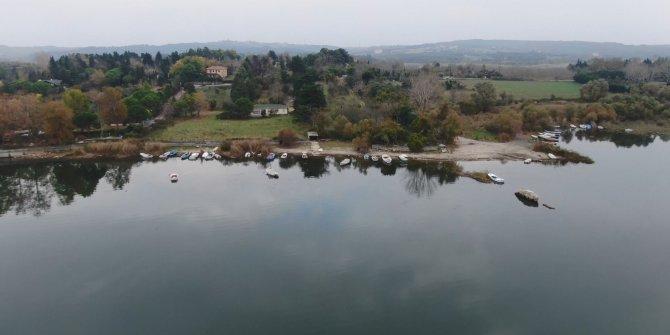 (Havadan fotoğraflarla) - İstanbul'un barajlarında doluluk oranı yüzde 50'yi aştı