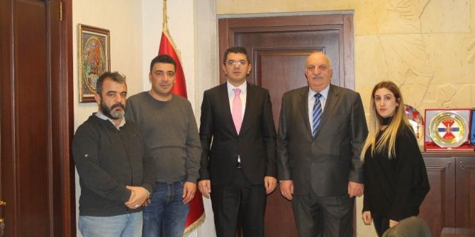 Küresel Gazeteciler Konseyi, Başsavcı Şahin'i ziyaret etti