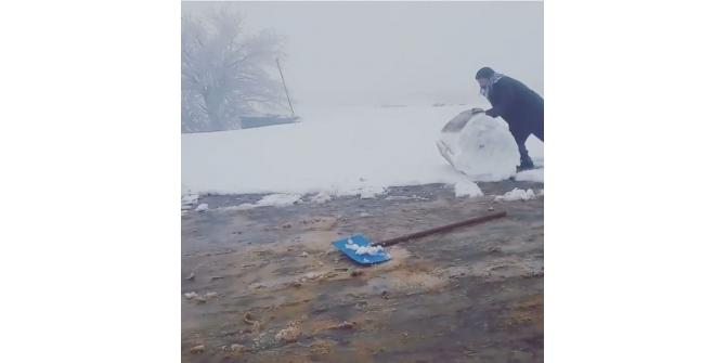 Siverek usulü kar temizleme