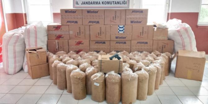 Şanlıurfa'da kaçakçılık operasyonu: 4 gözaltı