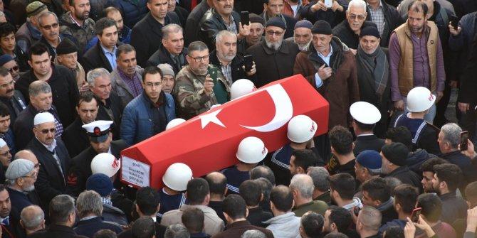 Şehit Astsubay Köse, Tarsus'ta son yolculuğuna uğurlandı