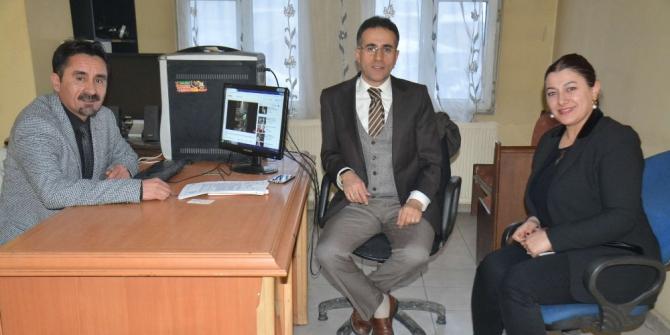 VEDAŞ heyetinden İHA Hakkari Bürosuna ziyaret