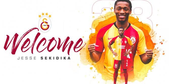 Galatasaray, Jesse Sekidika'yı kadrosuna kattı