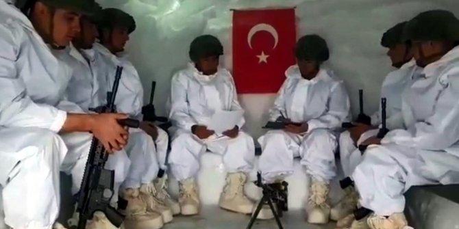 Mehmetçik, öğrencilerin mektubuna cevap verdi