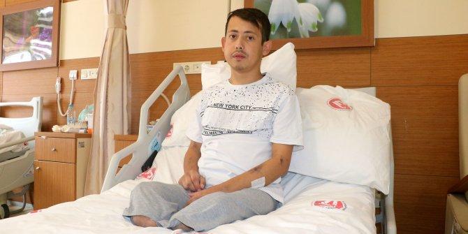 İki bacağı kesildi, böbreklerini kaybetti; pes etmedi nakille sağlık buldu
