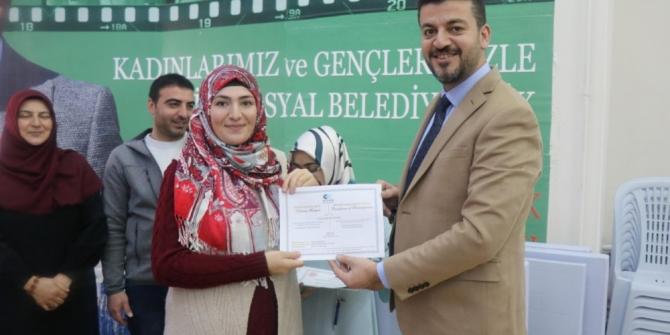 Ürgüp'te KOSGEB girişimcilik eğitimi sertifikaları verildi