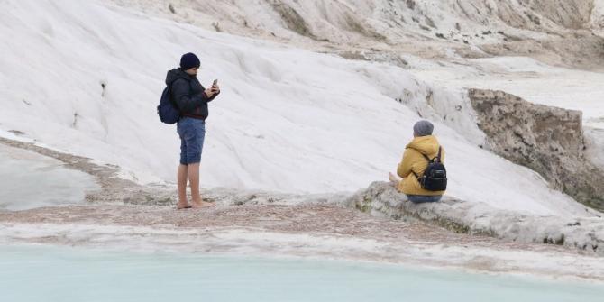 Yarıyıl tatilinde Pamukkale'de yüzde 100 doluluk bekleniyor