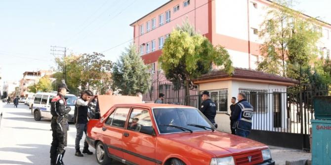 Gaziantep'te okul çevreleri denetlendi