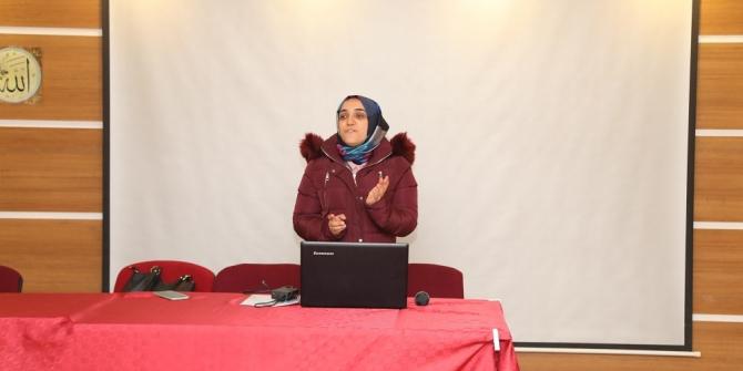 Başkale'de 'Mahremiyet Eğitimi' semineri