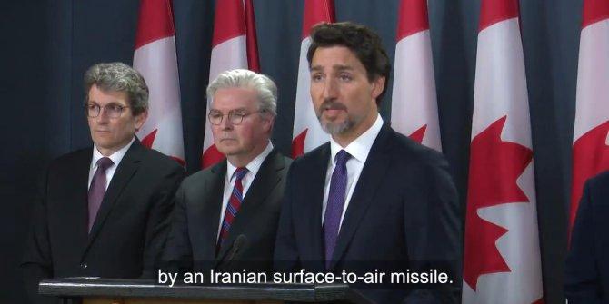 Trudeau: Uçağı İran'ın vurduğuna dair kanıt var
