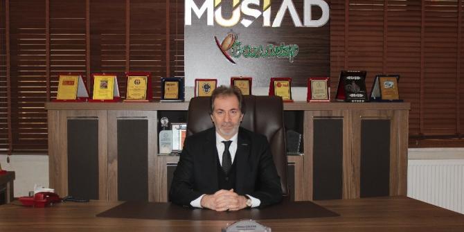 Müsiad Başkanı ÇelenK'ten Çalışan Gazeteciler günü mesajı