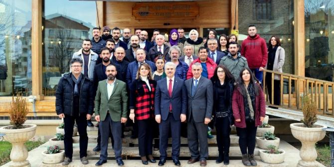 """Vali İbrahim Akın, """"Gazetecilik, çağımızın en dinamik mesleklerinden biridir"""""""