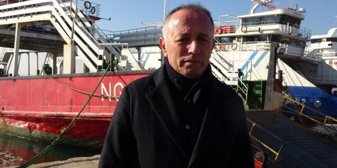 Balıkçı teknesi ile çarpışan feribotun sahibinden ilk açıklama