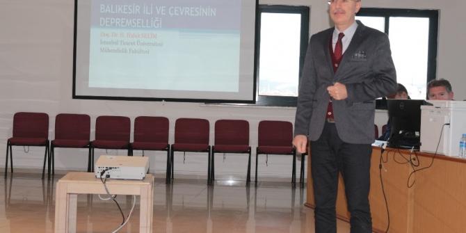 """Doç. Dr. Haluk Selim: """"Kentsel dönüşüm ve planlama acilen yapılmalı"""""""