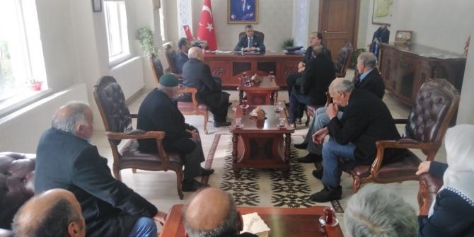 Kağızman'da barış toplantısı