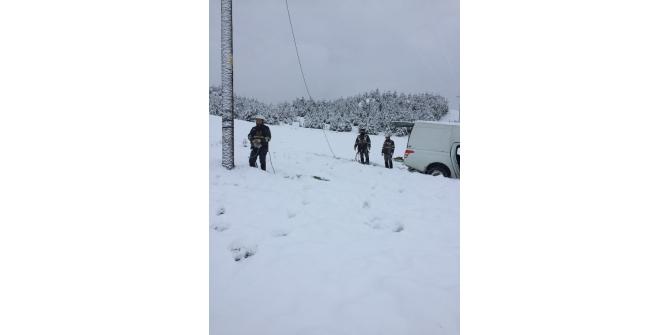 Toroslar EDAŞ kesintisiz enerji için kış çalışmalarını sürdürüyor