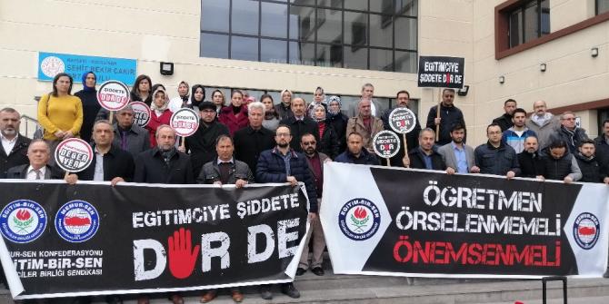 Kalkan'dan 'Eğitimciye şiddet' açıklaması: