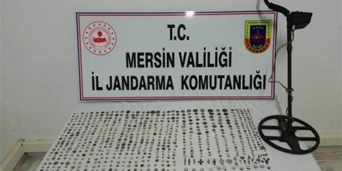 Mersin'de 746 parça tarihi eser ele geçirildi