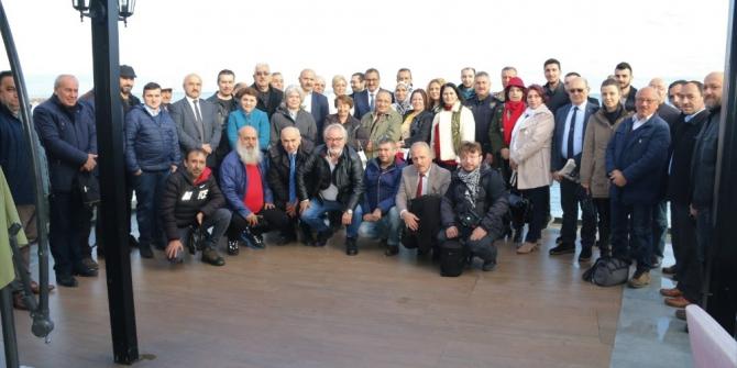 Giresun Valisi basın mensupları ile bir araya geldi
