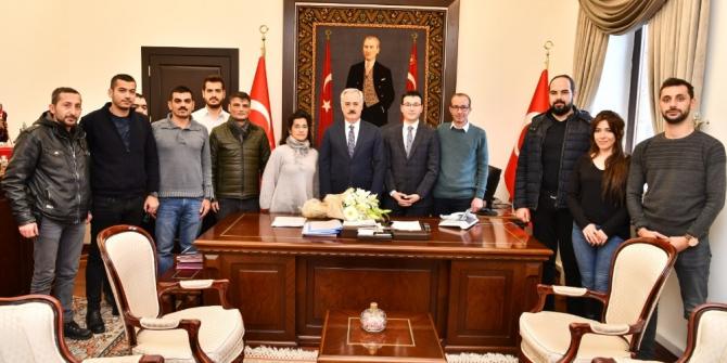 KGK'dan, Isparta Valisi Seymenoğlu'na 10 Ocak ziyareti