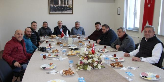 Devrek TSO gazetecileri kahvaltıda buluşturdu