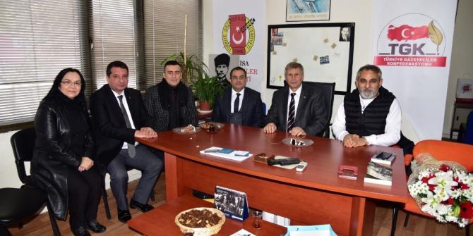 Manisa Büyükşehir Belediyesi, gazetecilerin gününü kutladı