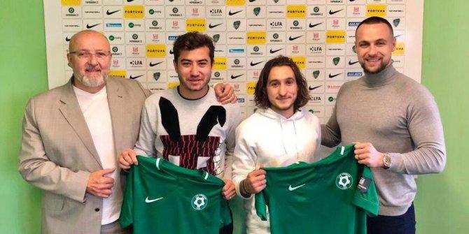 Aydın Yılmaz ve Erdi Şehit, FK Príbram'a transfer oldu