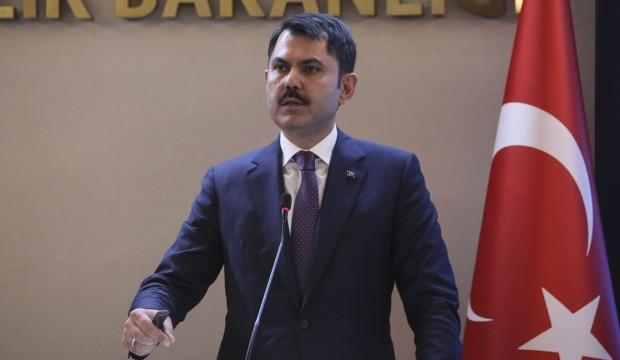 Çevre ve Şehircilik Bakanı Murat Kurum'dan Kanal İstanbul ile ilgili açıklama
