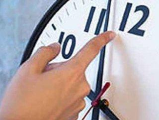 Seçim nedeniyle Yaz saati süresi uzatılacak