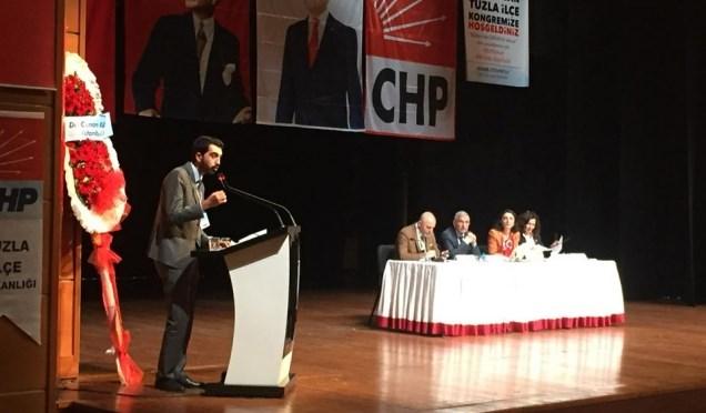 CHP Tuzla'da İlçe Başkanlığı'na Eren Ali Bingöl ile devam edildi