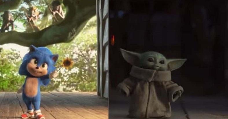 Bebek Yoda'dan sonra şimdi de Bebek Sonic!