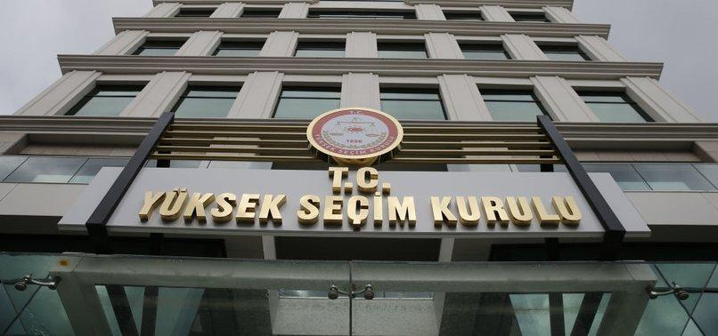 YSK, seçime girebilecek partileri açıkladı