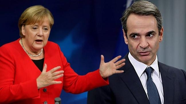 Merkel'den Yunan Başbakanına flaş Türkiye cevabı