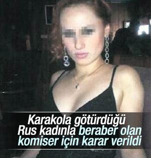 Rus Hayat Kadınına Karakolda tecavüz eden komisere beraat
