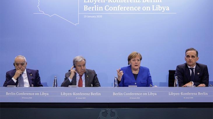 Tarihi Libya Konferansı sona erdi! Sonuç bildirgesi açıklandı
