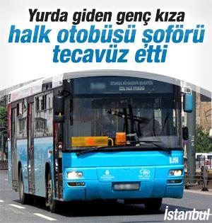 Ümraniye Halk otobüsünde tecavüz iddiası