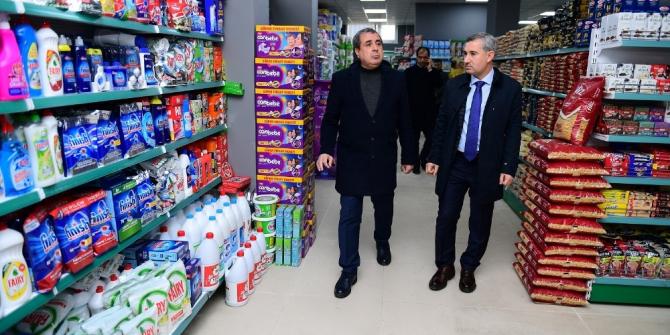 """""""Yeşil Gıda Market"""" projesi hizmete başlıyor"""