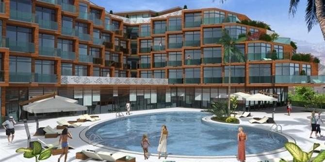 Kuşadası'nda 5 yıldızlı otel icradan satışa çıkarıldı