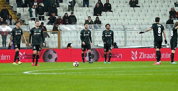 Beşiktaş, kupaya veda etti!