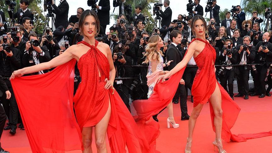 Alessandra Ambrosio moda şovu için Türkiye'ye geliyor