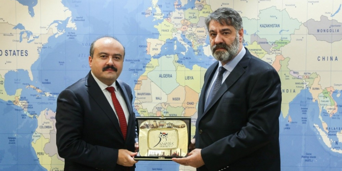 Tarım ve Orman Bakan Yardımcısı Fatih Metin'den Rektör Polat'a ziyaret